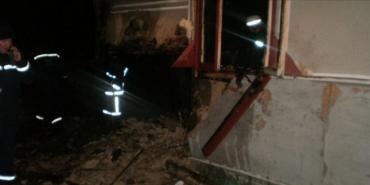 На Коломийщині через пожежу в літній кухні сильно постраждала 86-річна жінка