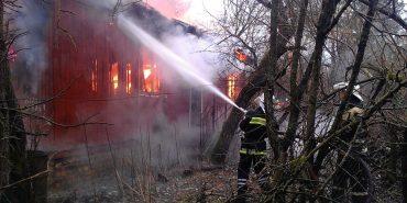 На Коломийщині згорів житловий будинок