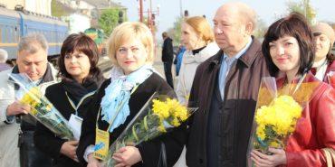 У Івано-Франківську зустріли демобілізованих бійців АТО. ФОТО
