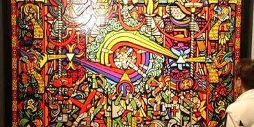 """Сучасне українське мистецтво існує і розвивається – на Івано-Франківщині відкрили всеукраїнський арт-проект """"Килим"""". ВІДЕО"""