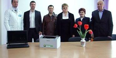Дитяча лікарня отримала ноутбук та принтер від Фонду громади Коломиї. ВІДЕО