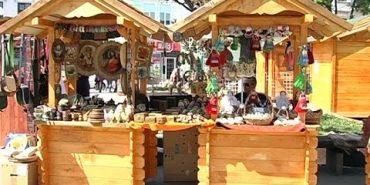 У Коломиї розпочався Великодній ярмарок із сувенірами та смаколиками. ВІДЕО