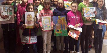 50 школярів з цілої Коломийщини долучилися до конкурсу великодніх малюнків