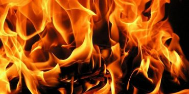 В Отинії горіла покрівля житлового будинку