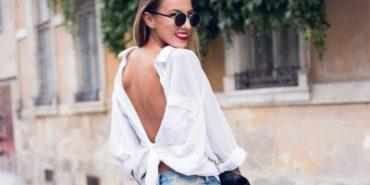 Будь в тренді: модниці масово носять сорочки задом наперед