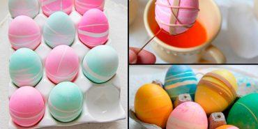 14 способів легко та оригінально оформити великодні яйця
