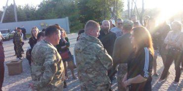 Активісти не дозволили провести концерт Лободи у Івано-Франківську. ВІДЕО