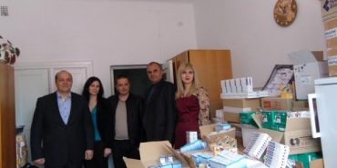 До Долини для безоплатної видачі хворим привезли медикаментів на понад 350 тисяч гривень