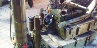 В центрі Франківська відкрили виставку зброї із зони АТО. ФОТО