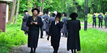 150 євреїв зі США та Ізраїлю молилися у Коломиї за головного рабина ХІХ століття. ФОТО
