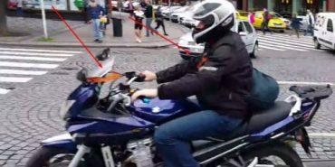Путінський байкер із угрупування «Нічні вовки» їздить з львівськими номерами