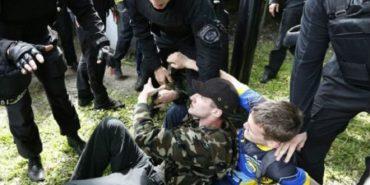 9 травня в Україні пройшло з бійками і зеленкою