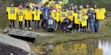 У Карпатах знімали проморолик для збірної України з футболу. ФОТО