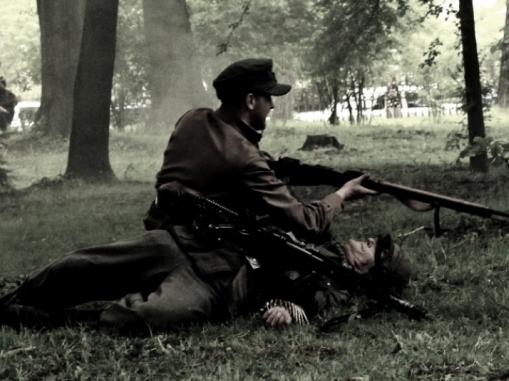 У Франківську відтворили бій між УПА та нацистськими військами