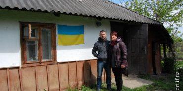 Велика Кам'янка збудує дім для бійця АТО Василя Чорнецького, який живе у столітній бабусиній хаті