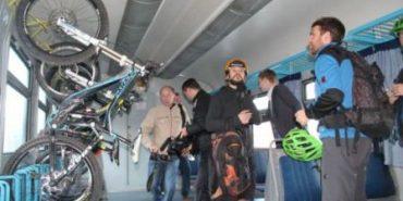 Активісти просять голову Івано-Франківської ОДА облаштувати у потягах веловагони