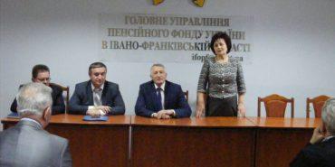 Прикарпатцям представили нового начальника управління Пенсійного фонду України в області