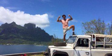 Коломиянин Андрій Костащук подорожував автостопом по світу зі 100 доларами в кишені. ФОТО+ВІДЕО