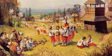 На Городенківщині співали гаївки про війну і кохання. ВІДЕО