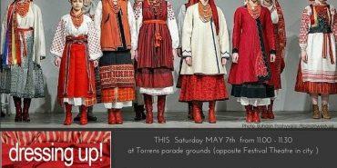 Українське народне вбрання зачарувало глядачів на фестивалі в Австралії