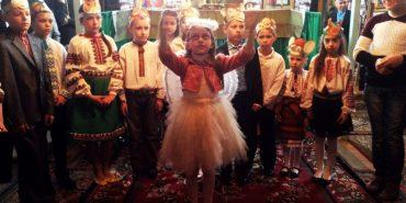 У Коломиї діти влаштували Великоднє дійство. ФОТО