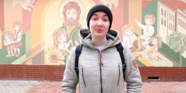 Коломийські студенти привітали Надію Савченко з днем народження. ВІДЕО