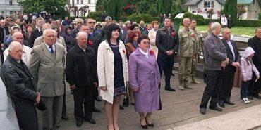У Коломиї на Площі Скорботи вшанували героїв Другої світової війни. ВІДЕО