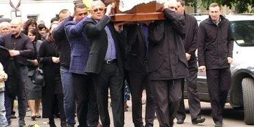 У Коломиї поховали члена виконкому Коломийської міськради Ігоря Свідзінського. ВІДЕО