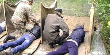 Випускники шкіл Коломийщини практикувалися у стрільбі. ВІДЕО