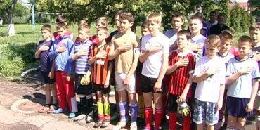 До Дня Героїв приурочили футбольний турнір у П'ядиках. ВІДЕО