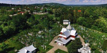 Опублікували світлини найстарішої церкви на Косівщині з висоти пташиного польоту