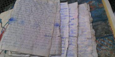 На Прикарпатті госпітальєр знайшов під дідовою хатою документи часів УПА. ФОТО