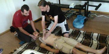 Прикарпатські рятувальники проходять навчання у Польщі. ФОТО