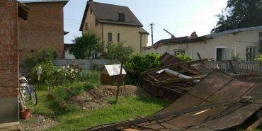 Через стихію на Коломийщині травмувалися двоє чоловіків. ФОТО