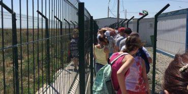 На кордоні з Кримом утворилася величезна черга з українців, які їдуть туди відпочивати