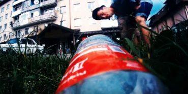 Юнак з Косова зняв повчальний ролик про сміття в Карпатах. ВІДЕО