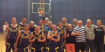 Україна виграла Чемпіонат Європи з баскетболу серед ветеранів