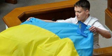 Савченко: потрібно було воювати в Криму, щоб не було війни на Донбасі