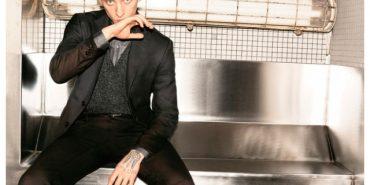 Український танцівник з татуюванням-тризубом на руці став обличчям модної італійської марки Pal Zileri