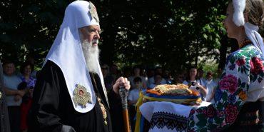 У Коломиї з візитом перебував Патріарх Філарет. ФОТОРЕПОРТАЖ