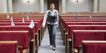 Після незручних запитань Надія Савченко перервала свій агітаційний передвиборчий візит