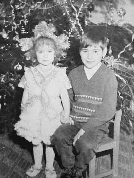 Олександр у дитинстві.