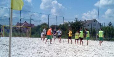 Відкритий чемпіонат області з пляжного футболу відбудеться на Прикарпатті