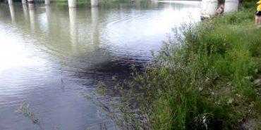 У річку Прут потрапила бітумна емульсія. ФОТО