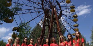 """Учасниці """"Міс Україна Всесвіт"""" влаштували фотосесію у Чорнобилі. ФОТО"""