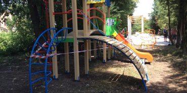 У Коломиї встановили 6 нових дитячих майданчиків
