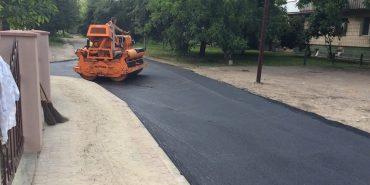 У Коломиї напередодні візиту Філарета завершують ремонт дороги на Коновальця