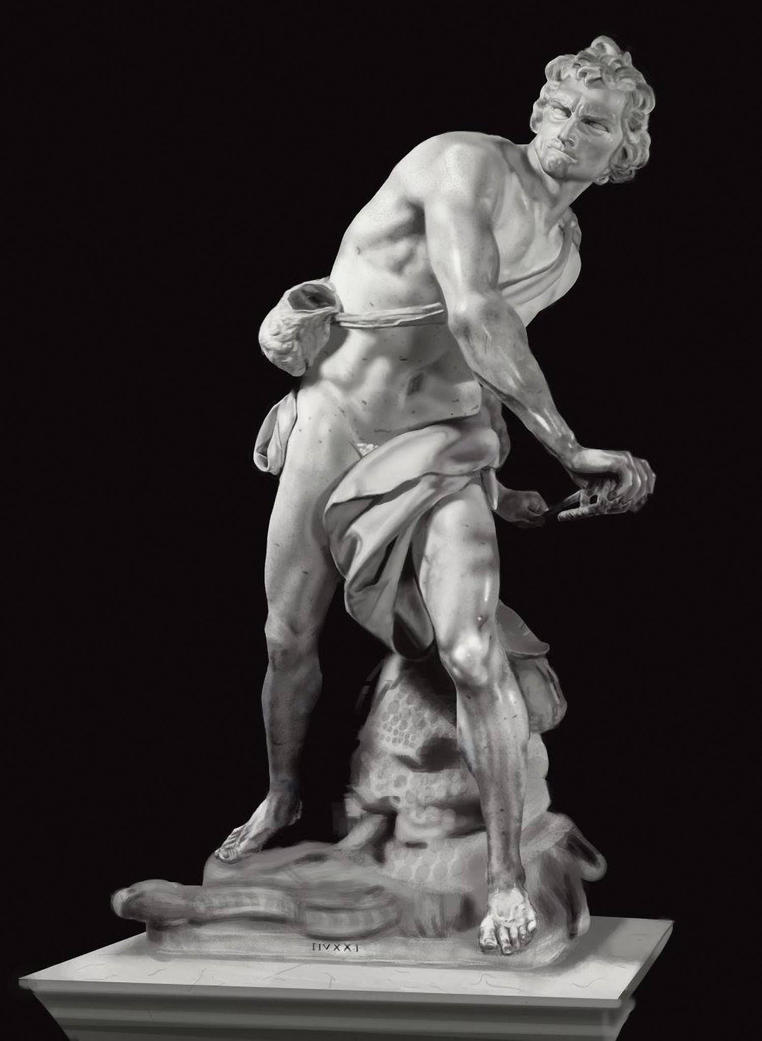 Лоренцо Берніні. Давид.