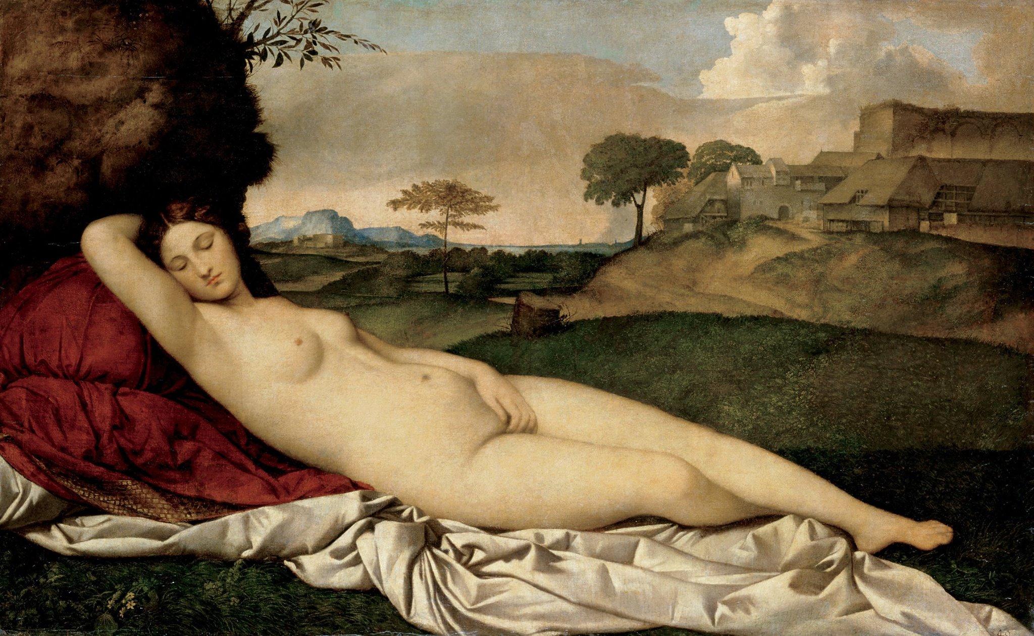 Джорджоне. Спляча Венера