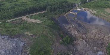 На Львівському сміттєзвалищі може прорвати пошкоджену дамбу: під загрозою сусідні села